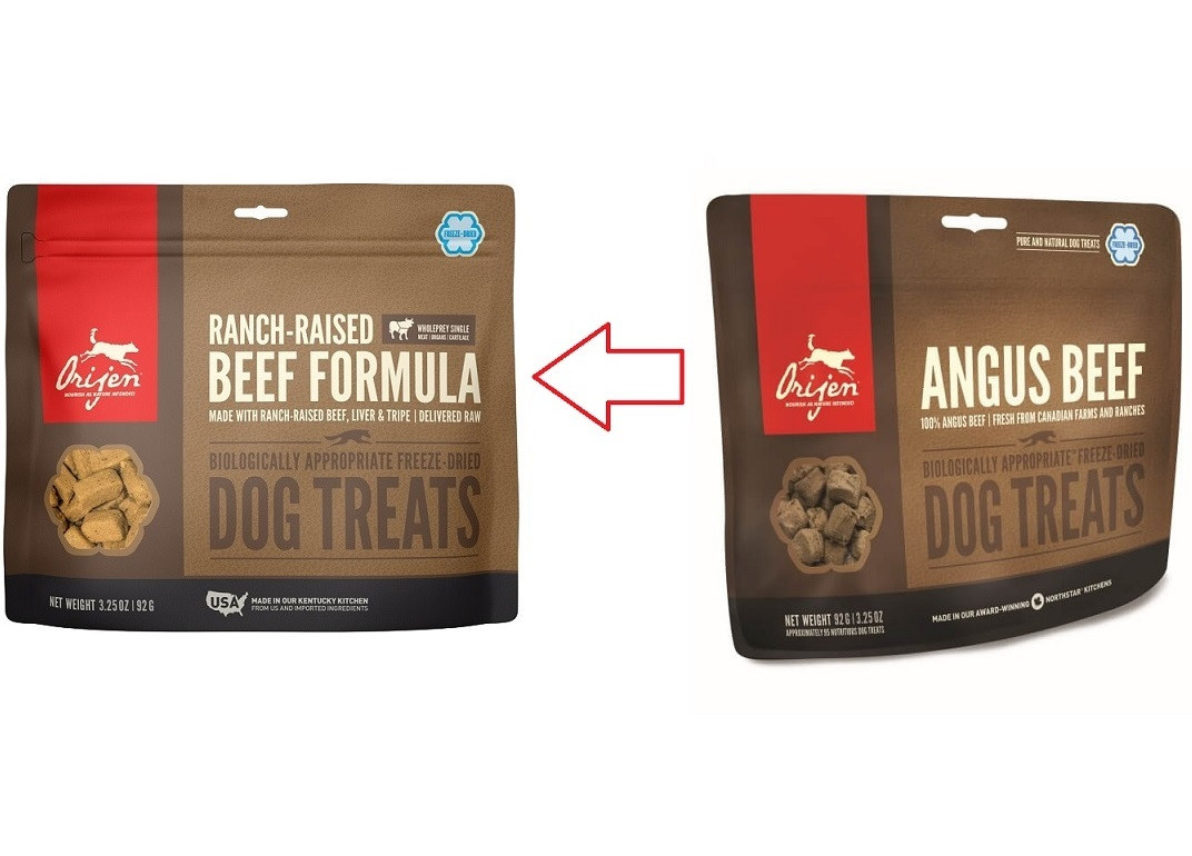 Orijen Ranch-Raised Beef Hundesnack