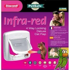 Staywell 500 Infra-red Deluxe 4 Way Locking Kattenluik