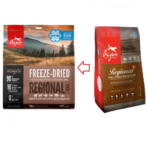Orijen Freeze-Dried Regional Red Hundefutter