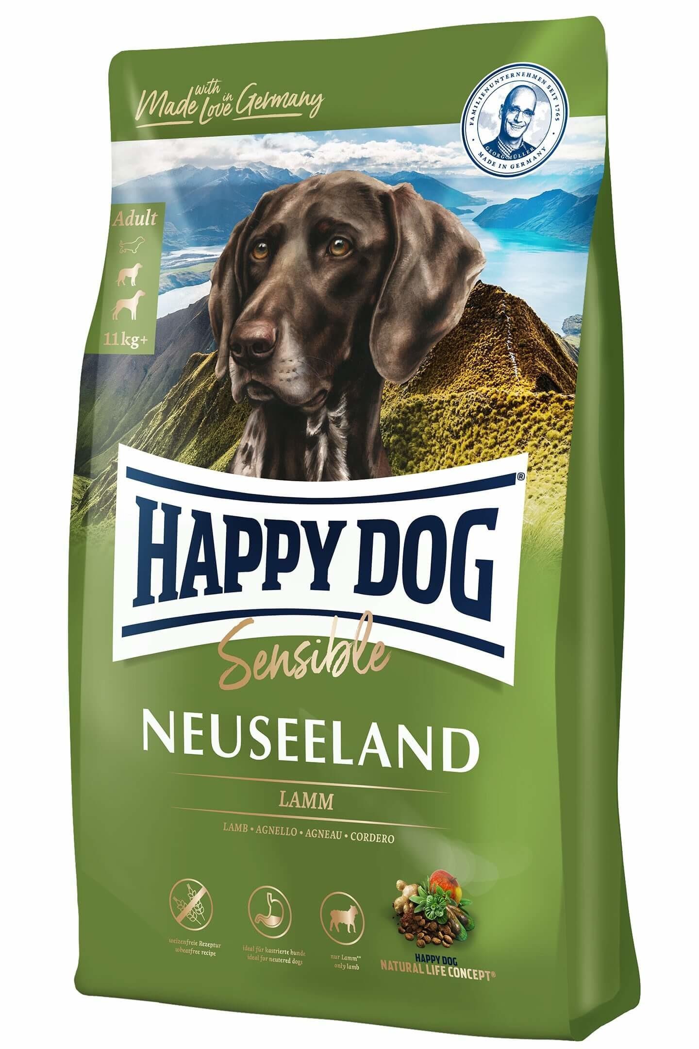 Happy Dog Supreme Neuseeland Hundefutter