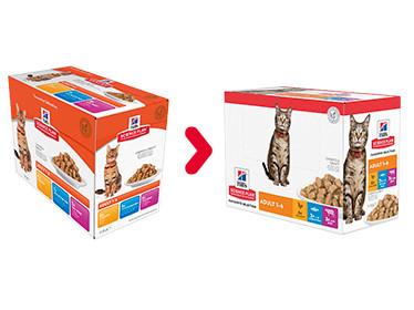 Hill's Adult Mulitpack Favourite Selection Katzen-Nassfutter