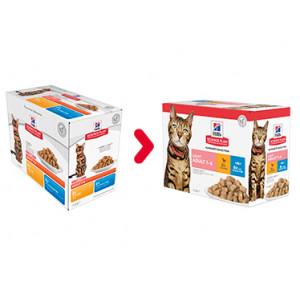 Hill's Adult Light Pouch Favourite Selection Katzenfutter