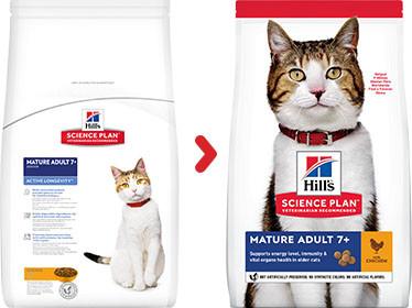 Hill's Mature/Senior Active Longevity Kip kattenvoer