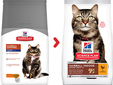 Hill's Mature Adult Hairball Control Katzenfutter
