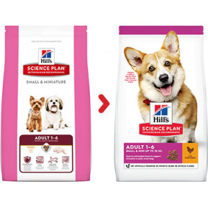 Hill's Adult Small & Miniature Huhn Hundefutter