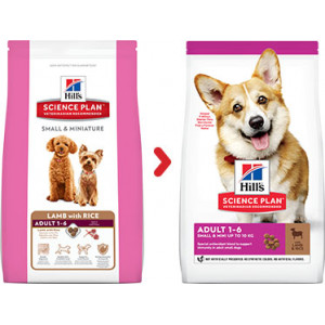 Hill's Adult Small & Miniature Lamm & Reis Hundefutter
