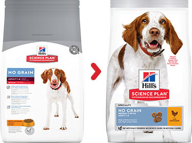 Hill's Adult No Grain Medium Huhn Hundefutter