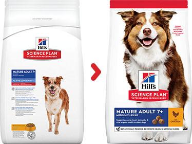 Hill's Mature Adult Medium Huhn Hundefutter