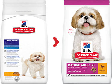 Hill's Mature Adult 7+ Active Longevity Mini Huhn Hundefutter