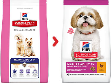 Hill's Mature/Senior 7+ Small & Mini Hundefutter