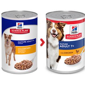 Hill's Mature  7+ Active Longevity Huhn (in Dosen) Hundefutter