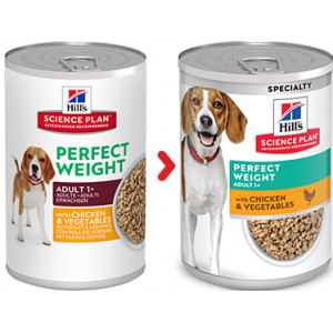 Hill's Adult Perfect Weight (Dosen) Hundefutter