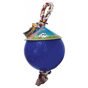 Jolly Ball Romp & Roll Small - mit Strick