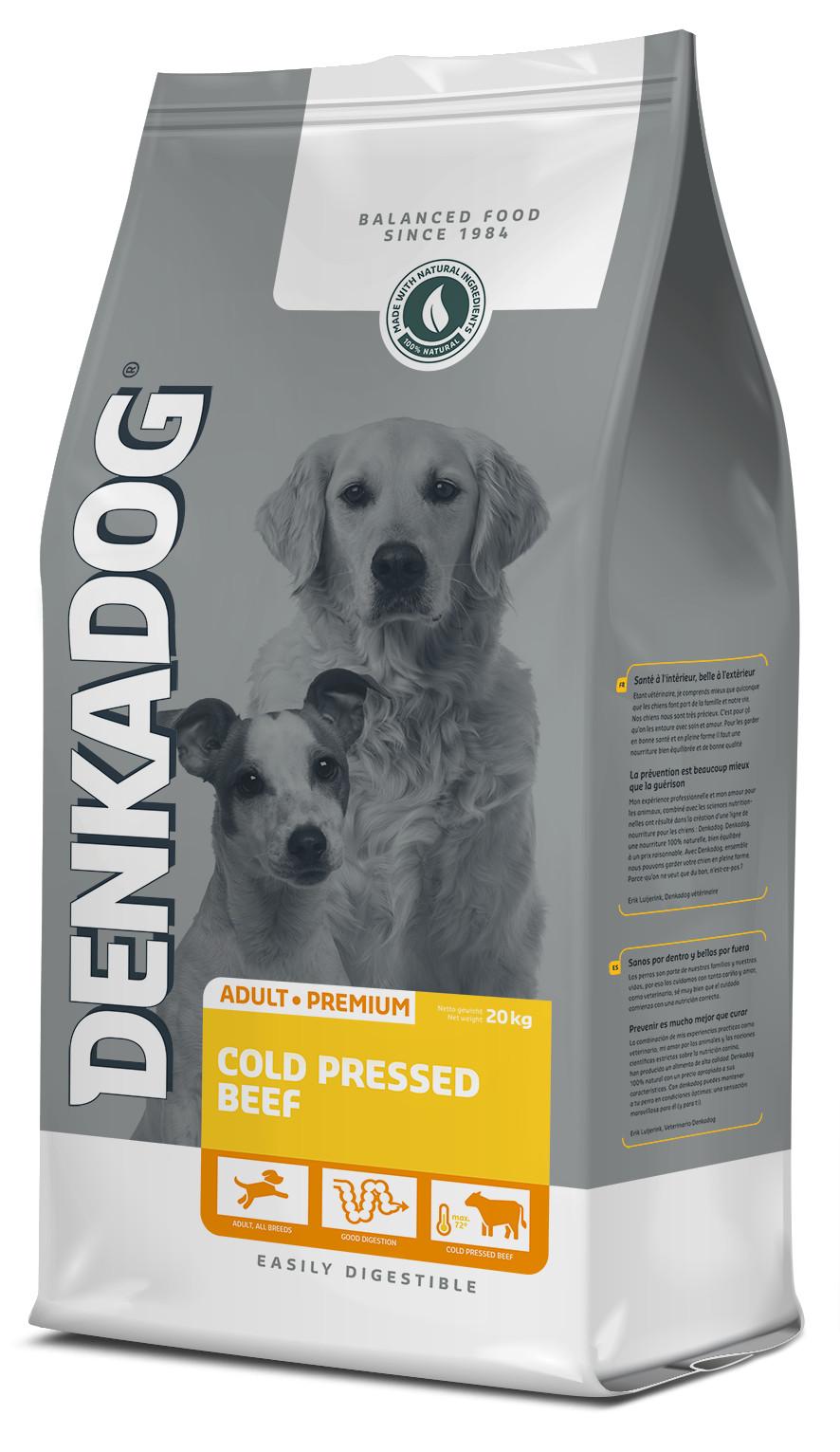 Denkadog Cold Pressed Beef Hundefutter