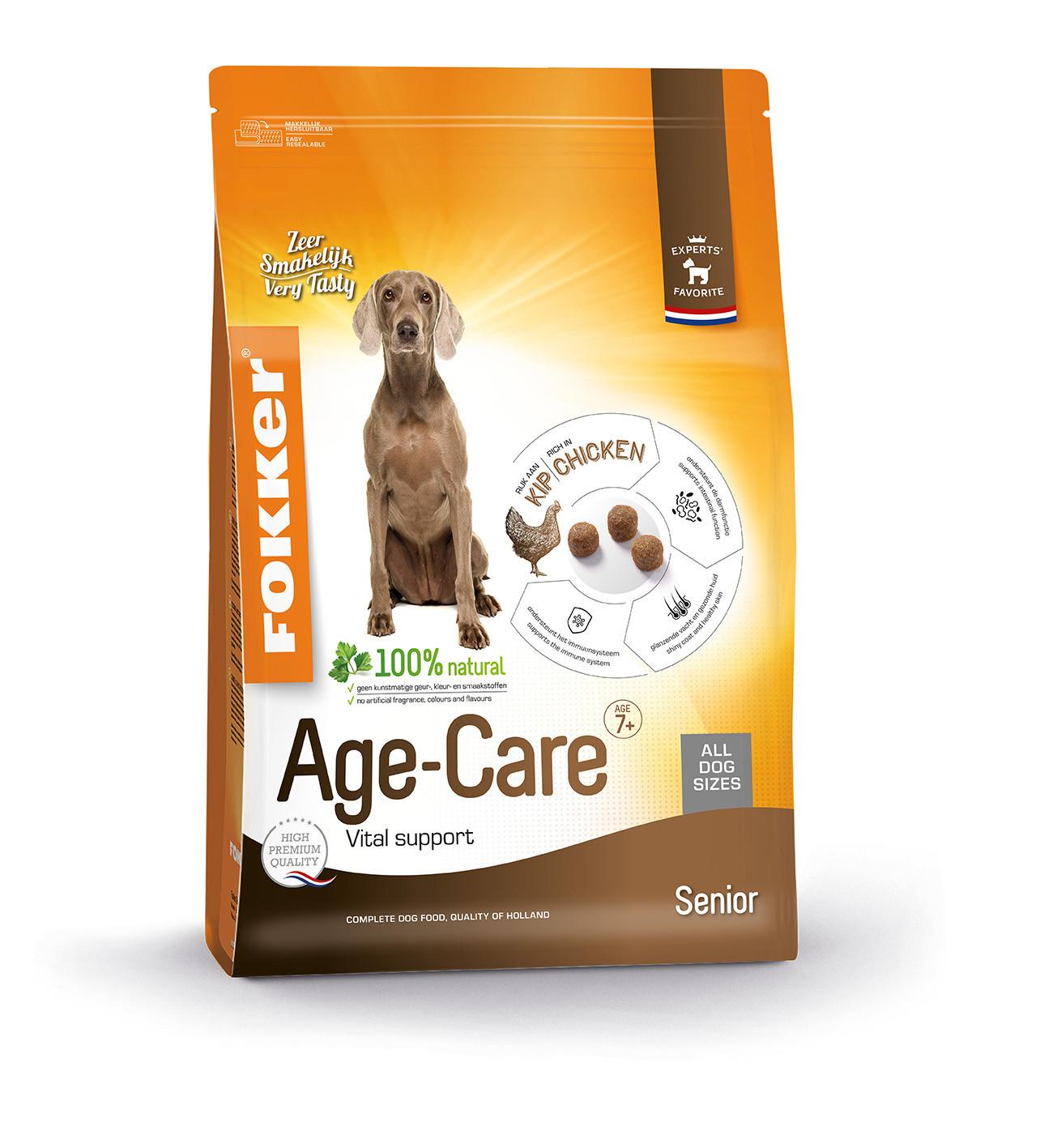 Fokker Dog Age-Care hondenvoer