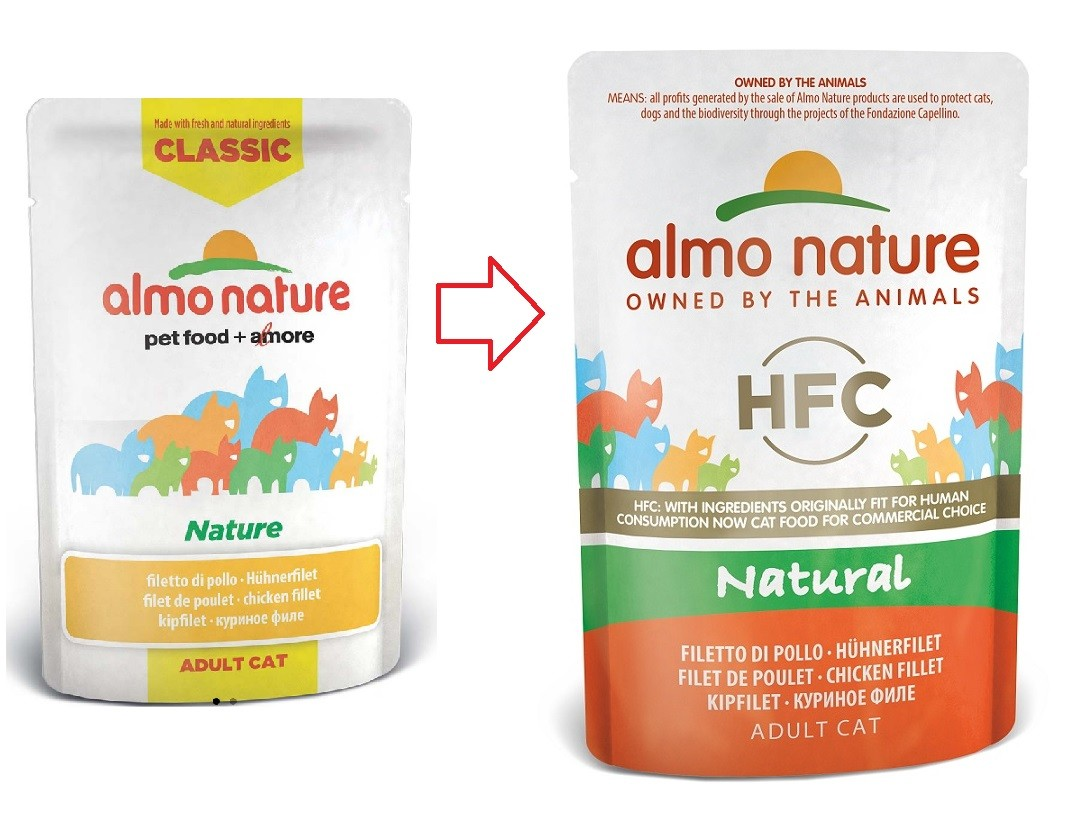 Almo Nature Classic Nature Hühnerfilet 55 Gramm