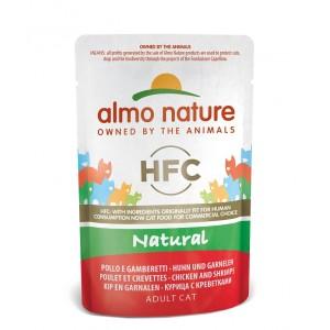 Almo Nature Classic Nature Huhn & Garnelen 55 Gramm