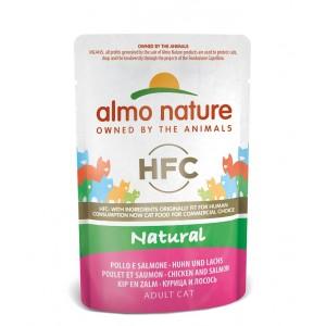 Almo Nature Classic Nature Huhn & Lachs 55 Gramm