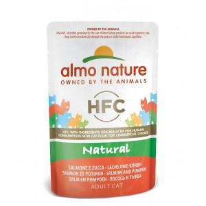 Almo Nature Classic Nature Lachs & Kürbis 55 Gramm