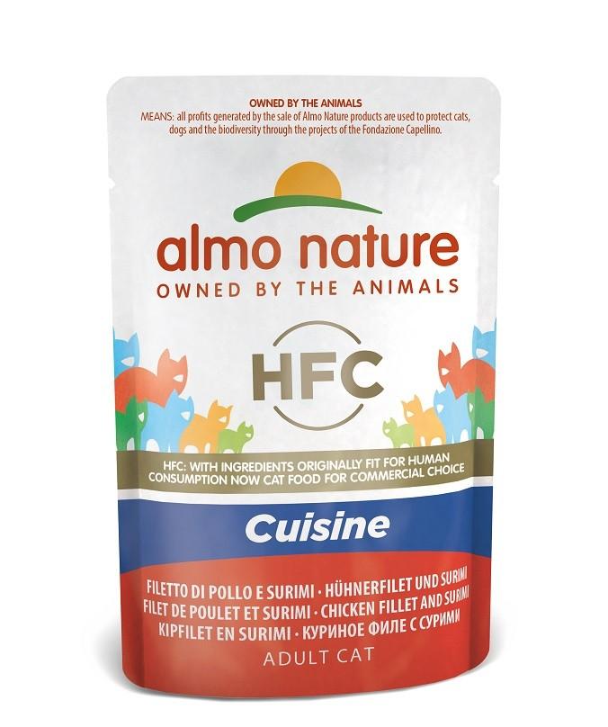 Almo Nature Classic Hühnerfilet & Surimi 55 Gramm