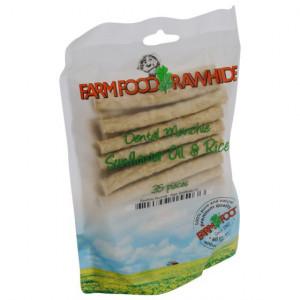 Farmfood Rawhide Dental Munchie Hart - 35 stuks