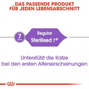 Royal Canin Sterilised +7 Katzenfutter