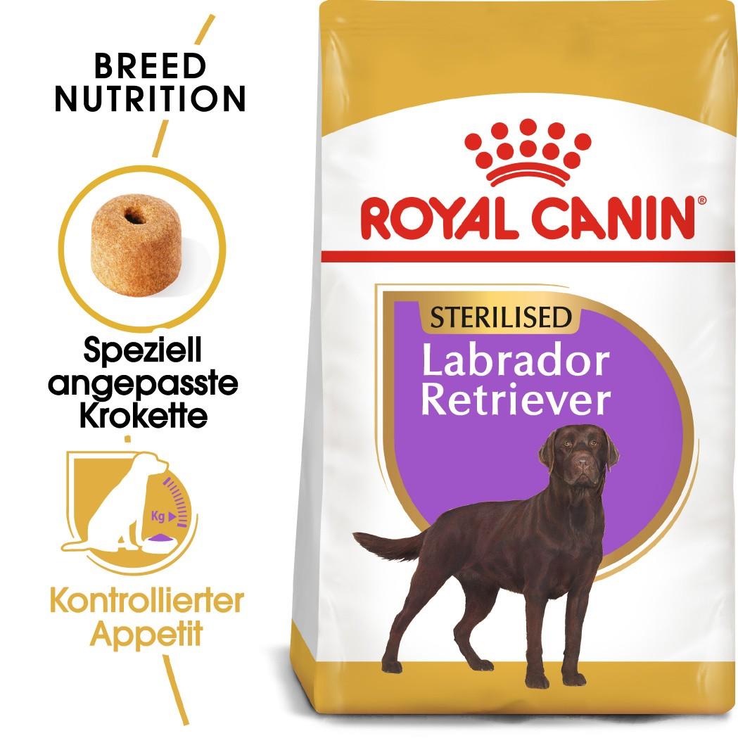 Royal Canin Sterilised Adult Labrador Retriever Hundefutter