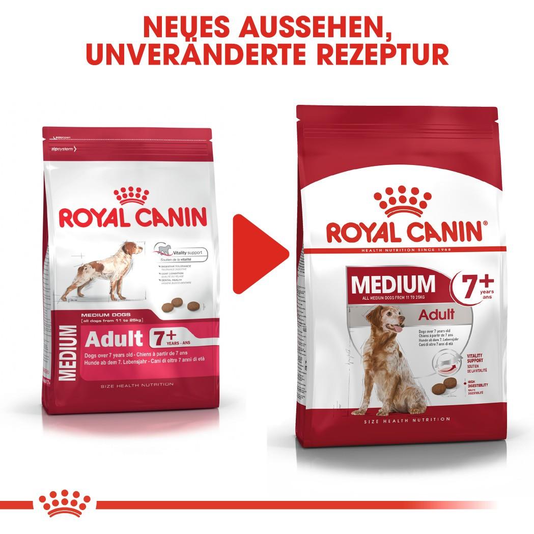 Royal Canin Medium Adult 7+ Hundefutter