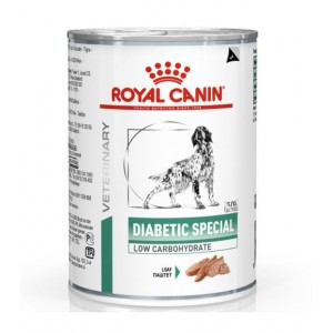 Royal Canin Veterinary Diet Diabetic Special Hundefutter (Dosen) 410g
