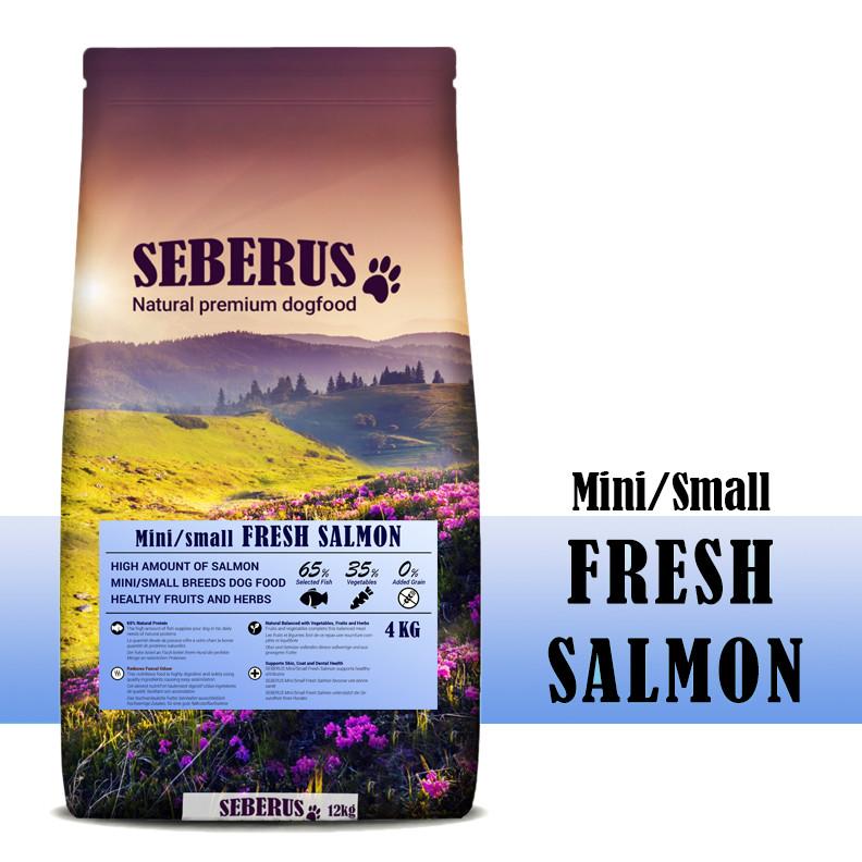 Seberus Mini/Small Fresh Salmon - natuurlijk graanvrij hondenvoer