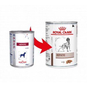 Royal Canin Veterinary Diet Hepatic Hundefutter (Dosen) 420g