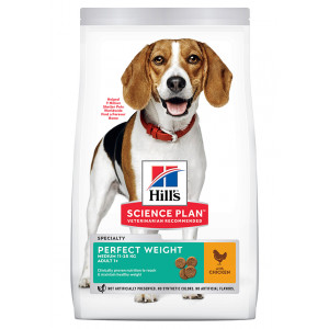Hill's Adult Perfect Weight Medium Huhn Hundefutter