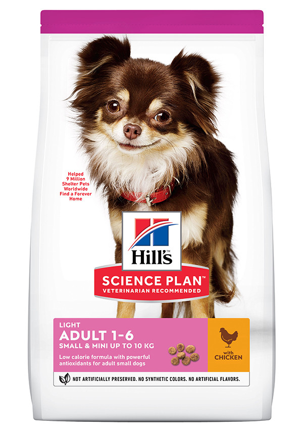 Hill's Adult Light Small & Mini Huhn Hundefutter