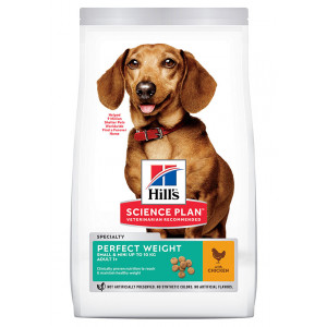 Hill's Adult Perfect Weight Small & Mini Huhn Hundefutter