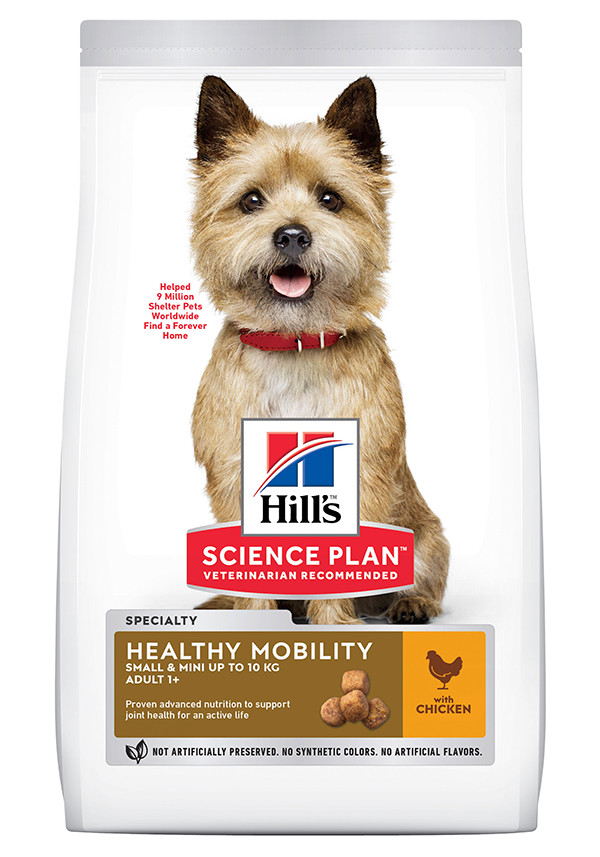 Hill's Adult Healthy Mobility Small & Mini Huhn Hundefutter