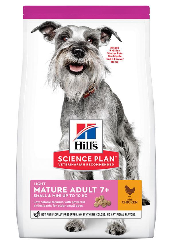 Hill's Mature Adult Light Small & Mini Huhn Hundefutter