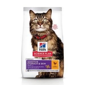 Hill's Adult Sensitive Stomach & Skin Katzenfutter
