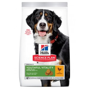Hill's Adult 6+ Youthful Vitality Large Breed Huhn Hundefutter