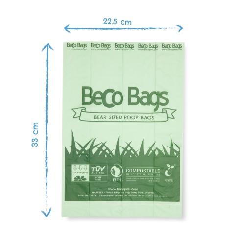 Beco Bags Poepzakjes Compostable - 60 stuks