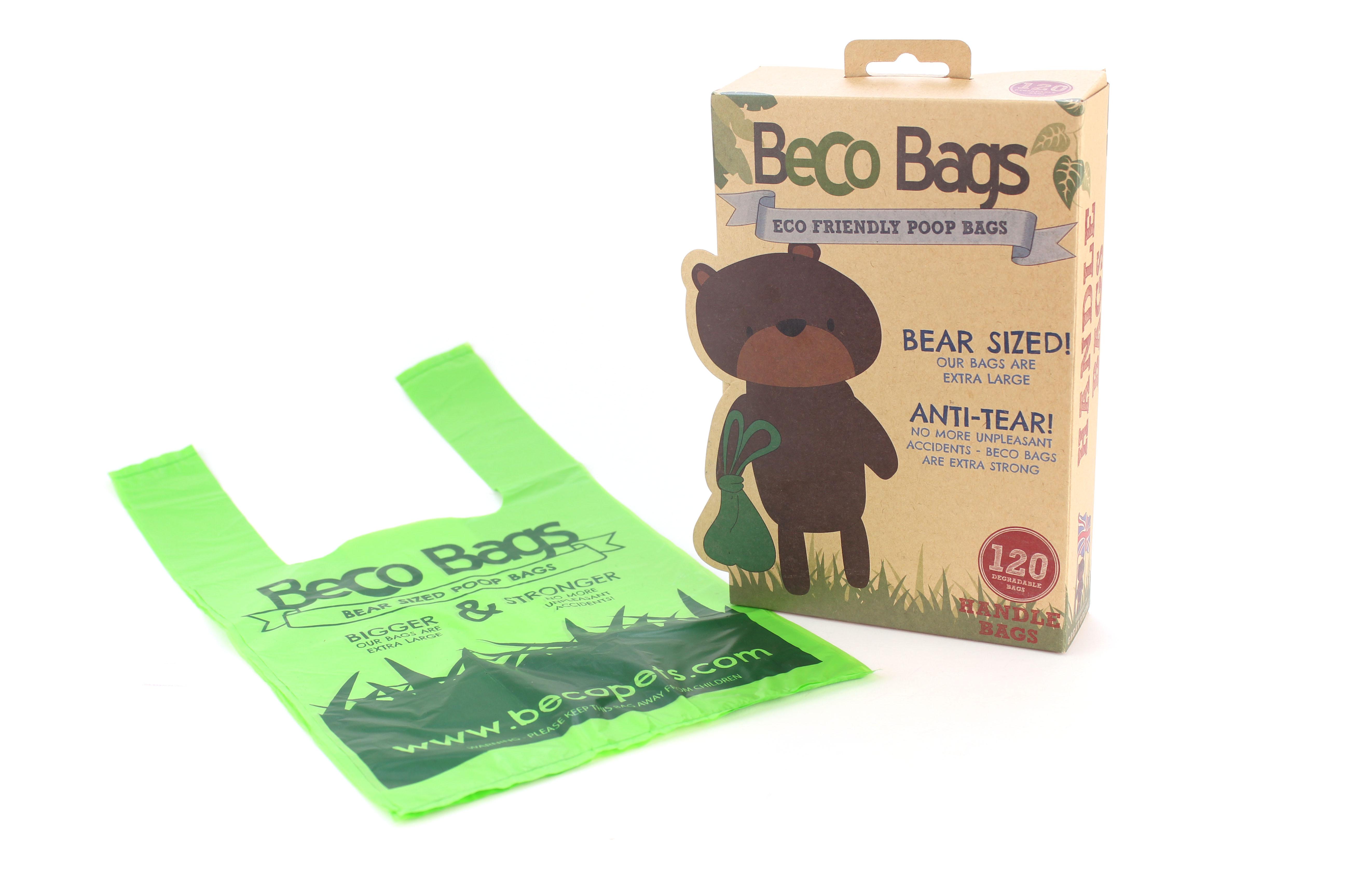 Beco Bags Poepzakjes - met handvatten - 120 stuks