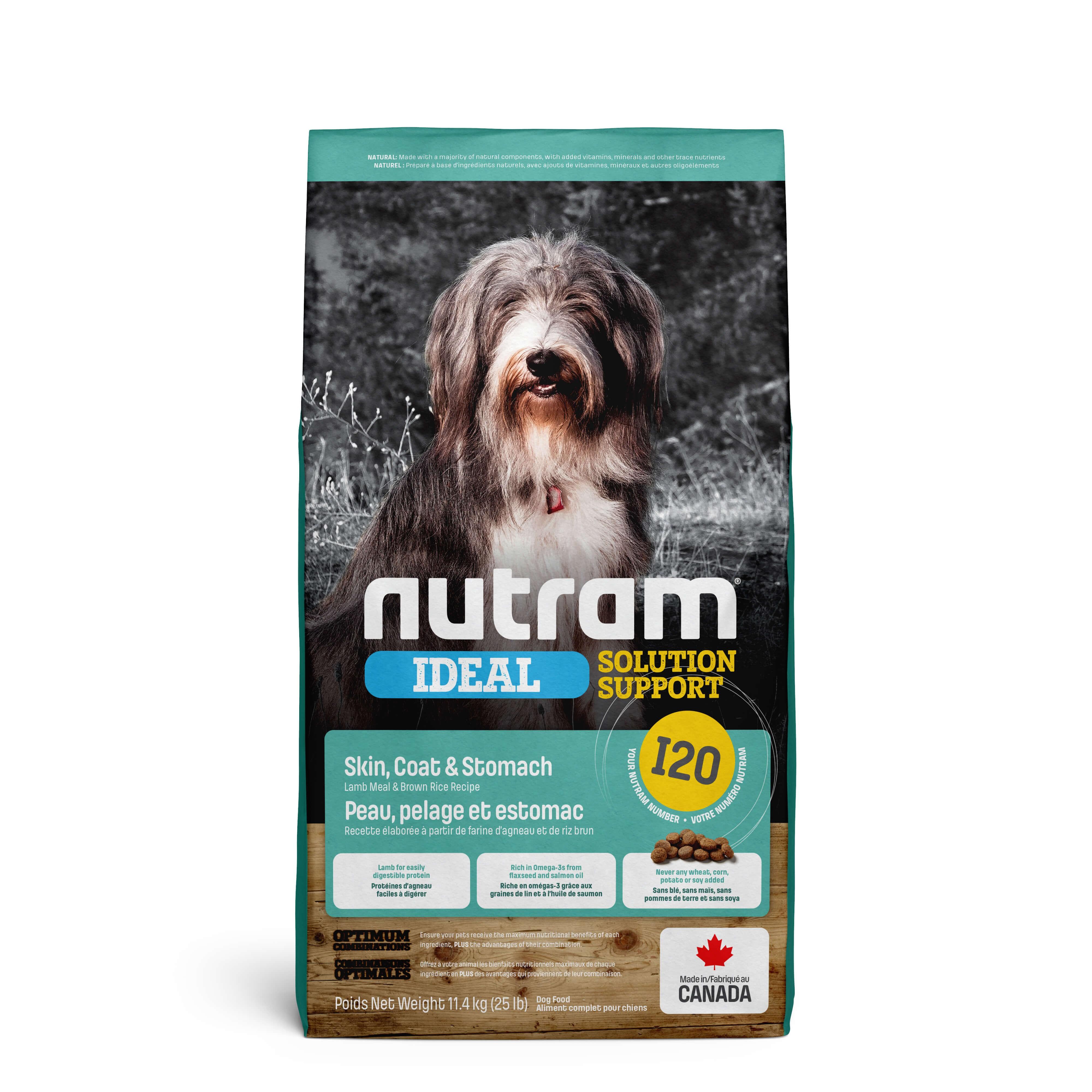 Nutram Ideal Solution Support Sensitive I20 Hundefutter
