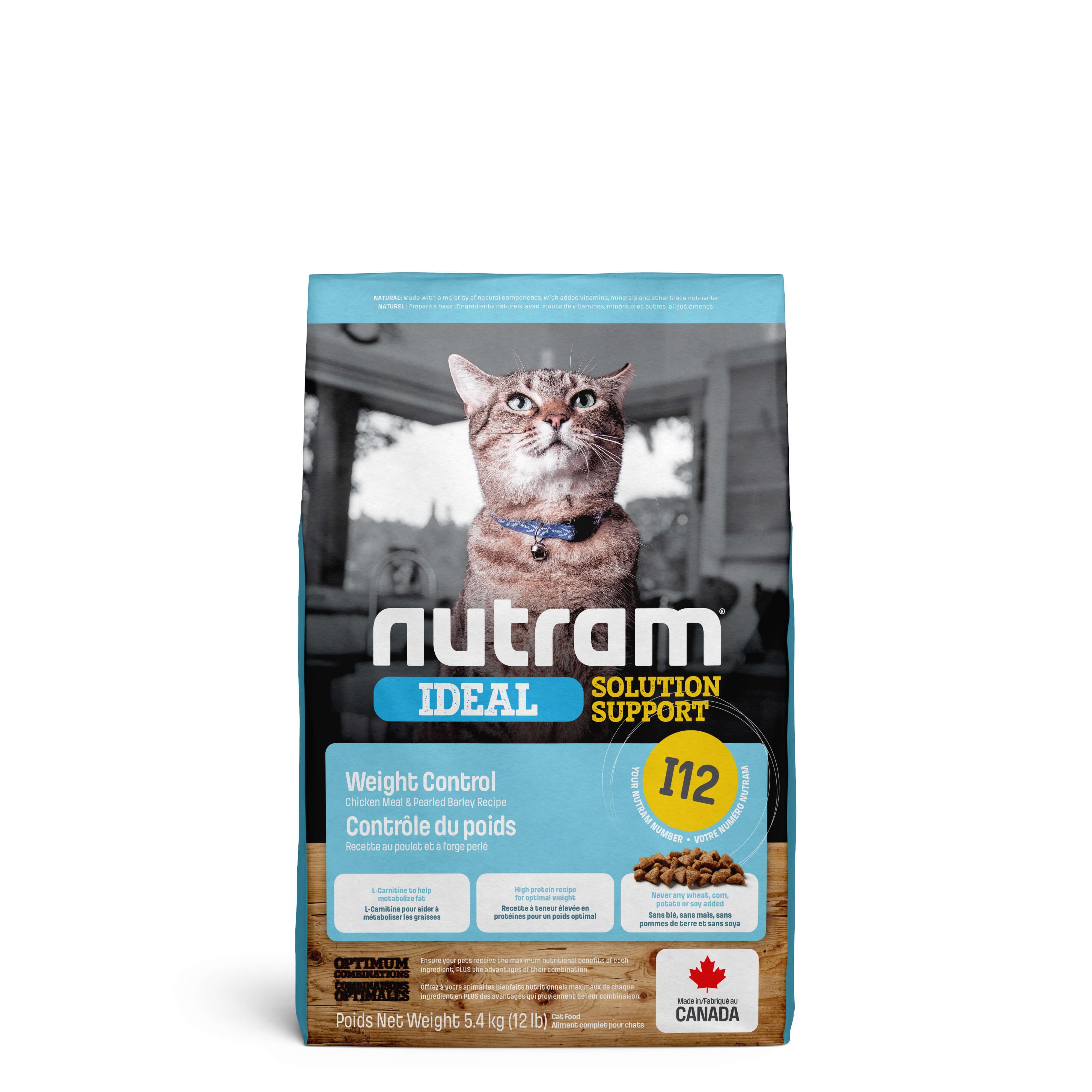 Nutram Ideal Solution Support Weight Control I12 Katzenfutter