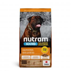 Nutram Sound Balanced Wellness Adult Large Breed S8 Hundefutter