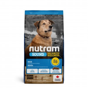 Nutram Sound Balanced Wellness Adult S6 Hundefutter