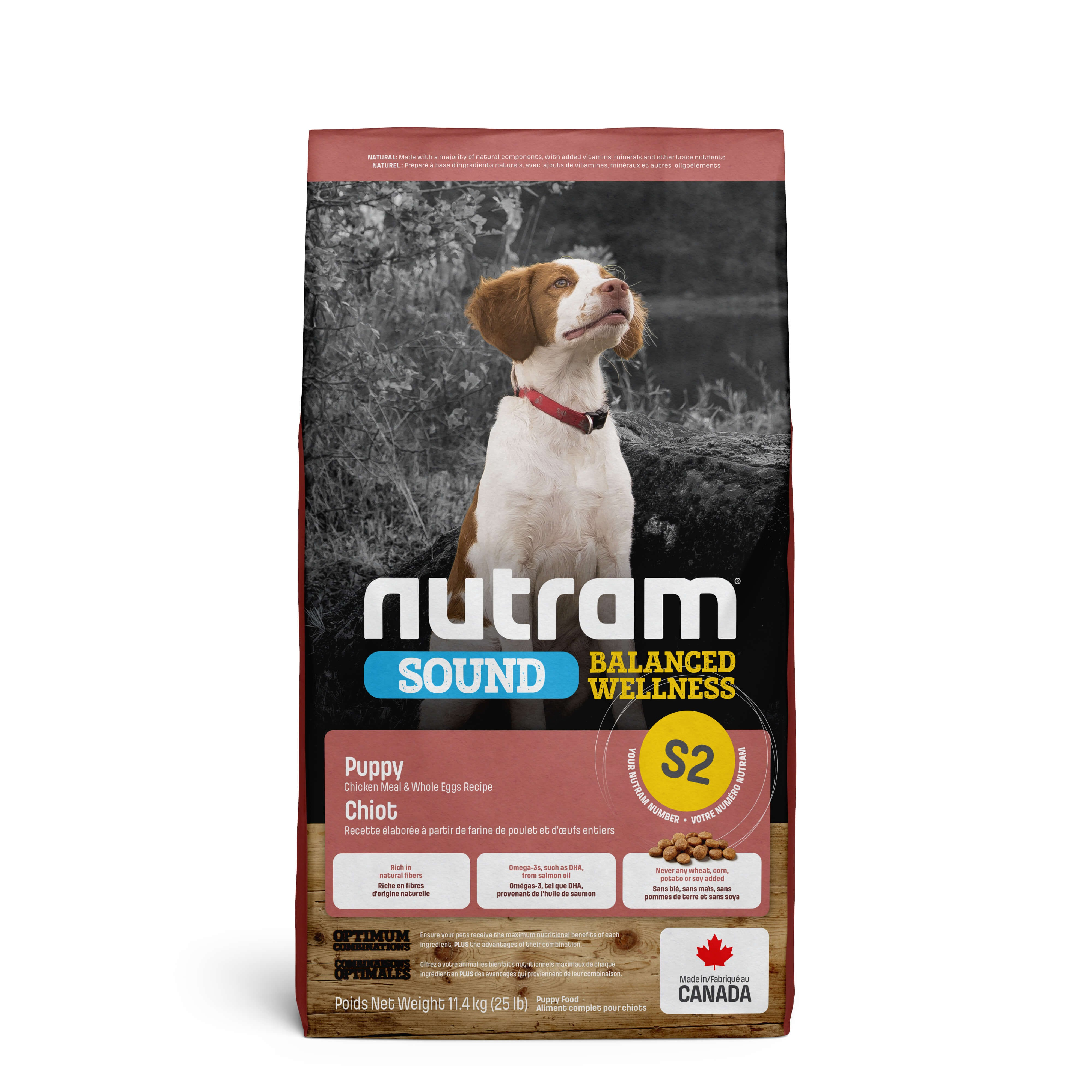 Nutram Sound Balanced Wellness Puppy S2 Hundefutter