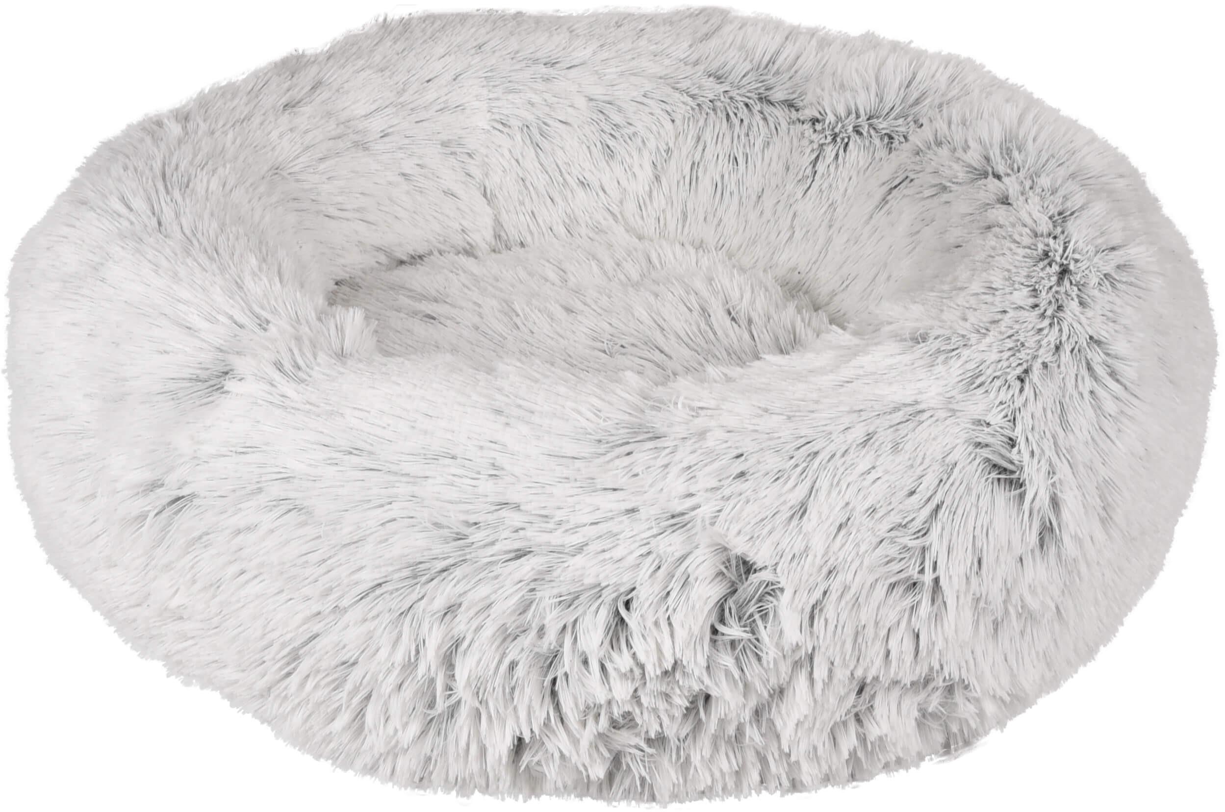 Kussen Alba rond 50 cm wit voor katten