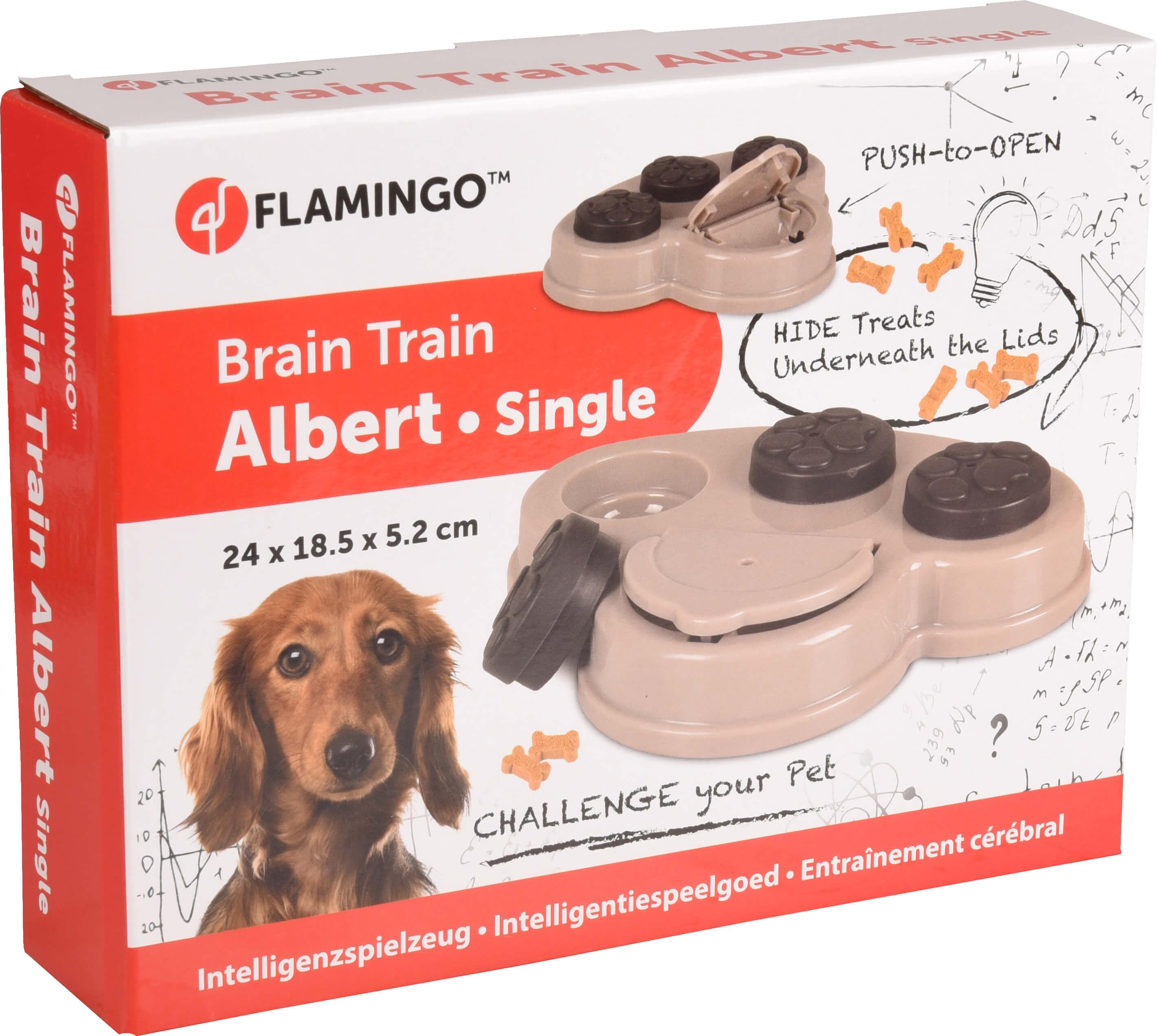 Hondentrainingsspel Brain Train Albert 1 klep
