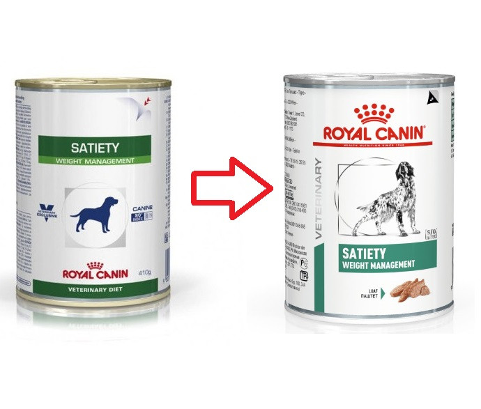 Royal Canin Veterinary Diet Satiety Weight Management Hundefutter (Dosen) 410g