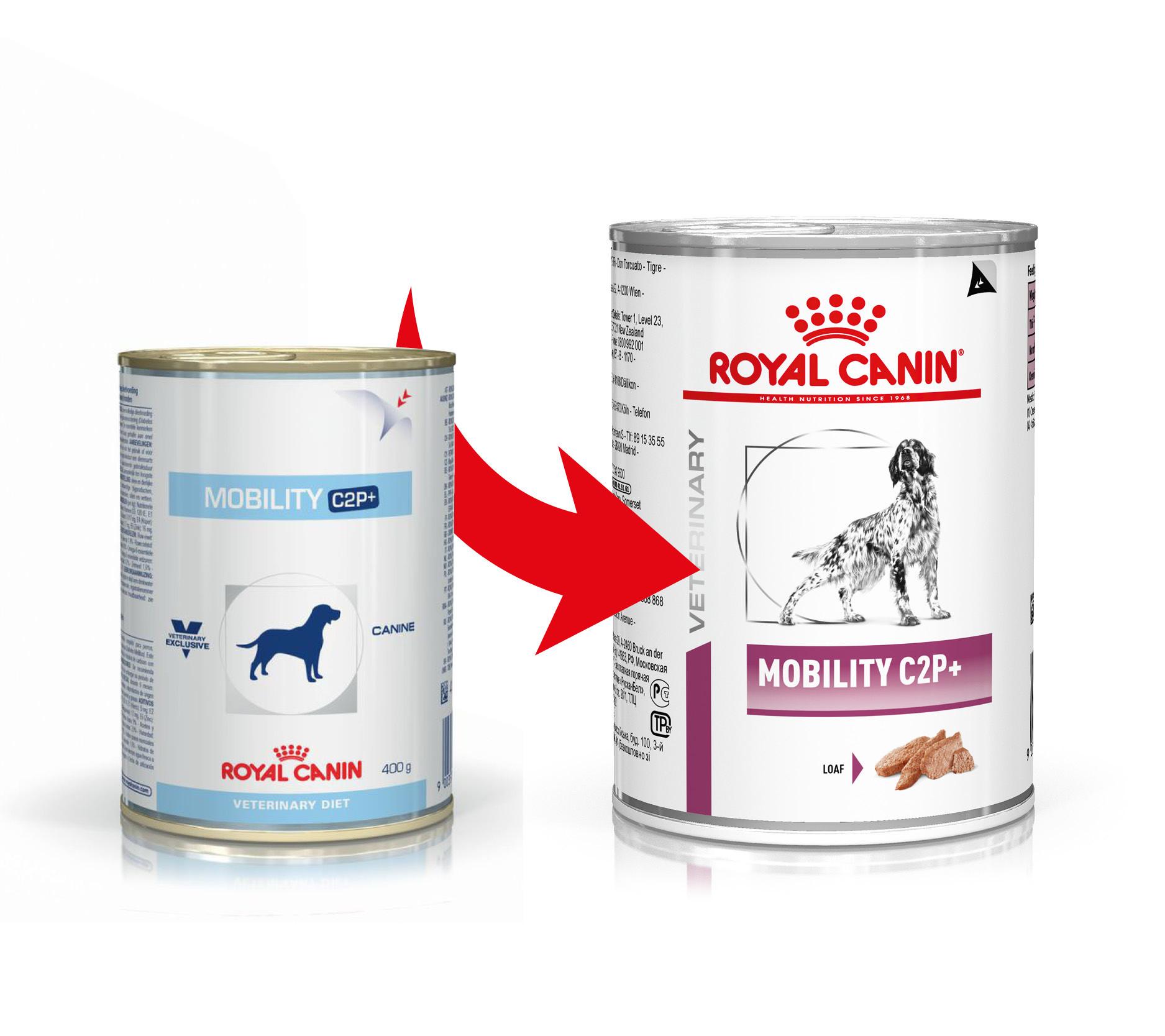Royal Canin Veterinary Diet Mobility C2P+ Hundefutter (Dosen) 400g