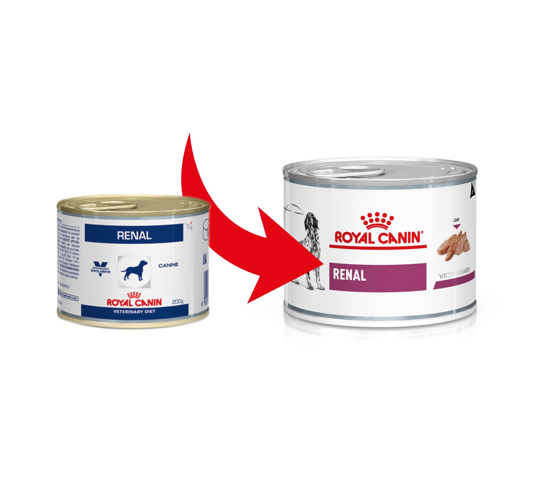 Royal Canin Veterinary Diet Renal Hundefutter (Dosen) 200g